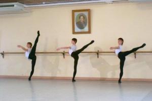vaganova school boys arabesque