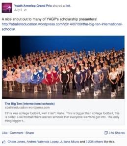 A Ballet Education YAGP