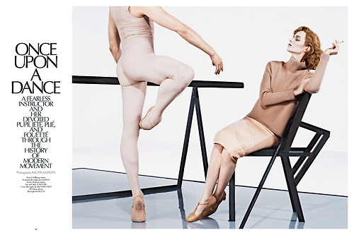 David Hallberg in Once upon a dance for Fashion Muse