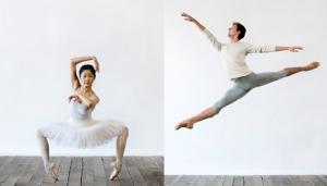 National Ballet of Canada's YOU Dance Apprentices . Miyoko Koyasu. Trygve Cumpston. Photos by Sian Richards.