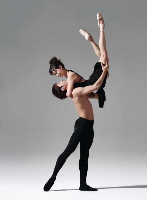Gay male ballet dancers