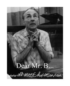 Dear Mr B