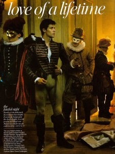 Roberto Bolle for Vogue