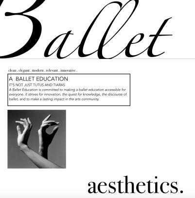 ballet education