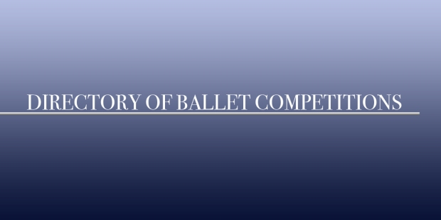 LIST OF BALLET COMPETITIONS