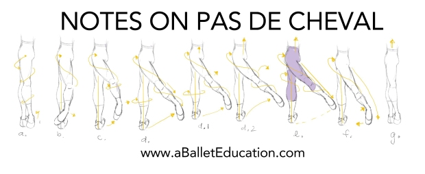 How to do a pas de cheval
