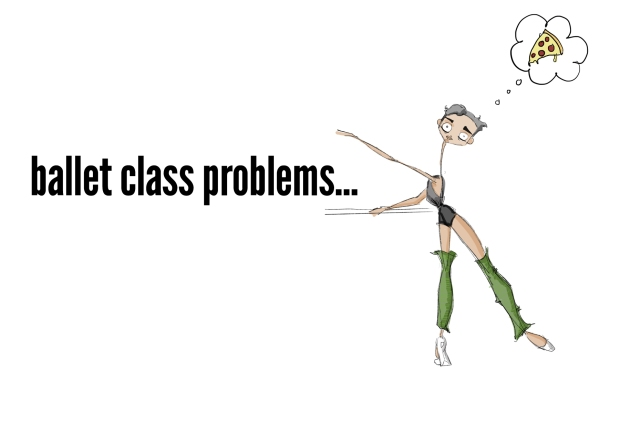ADULT BALLET CLASS PROBLEMS