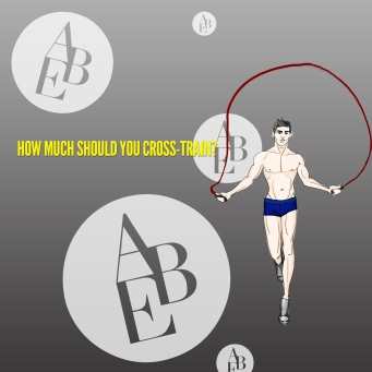 how much should you cross train for ballet